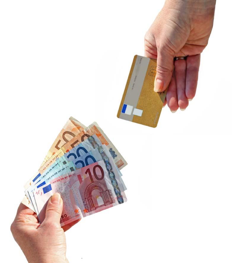 Bargeld gegen Karte - Was können unsere Automaten?